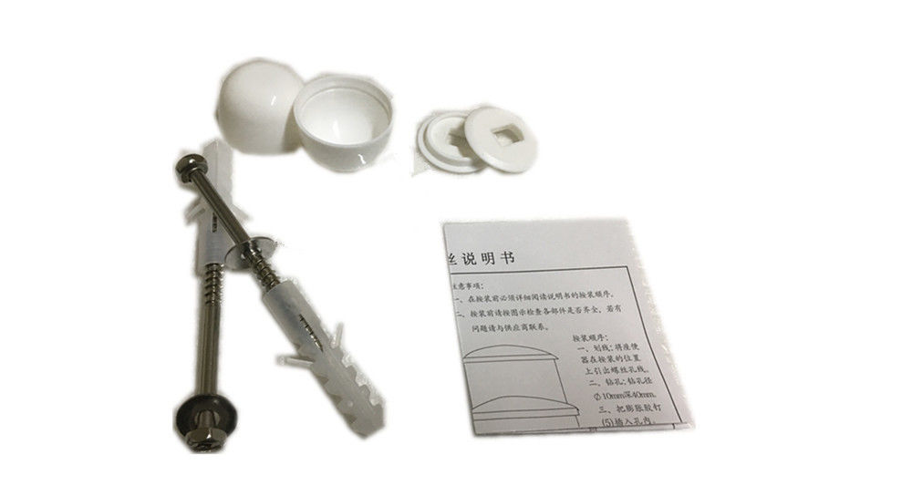 Lightweight Toilet Mounting Hardware , Fast Installation Toilet Seat Fixing Bolts